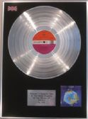 YES  - Platinum LP Disc - FRAGILE -  with original Atlantic plum lable